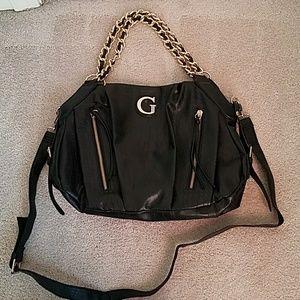 Leather Guess handbag